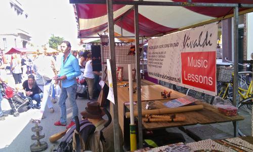 vivaldi Music lessons muziekles Den Haag, Home Made Market