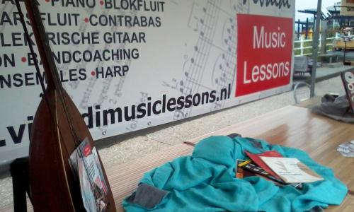 Home made market Vivaldi music lessons 1 september.